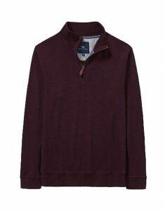 French Rib Sweatshirt in Fresh Damson
