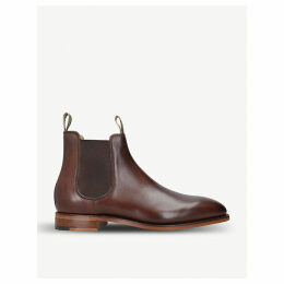 Mansfield leather chelsea boots