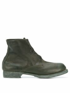 Guidi ankle length military boots - Green