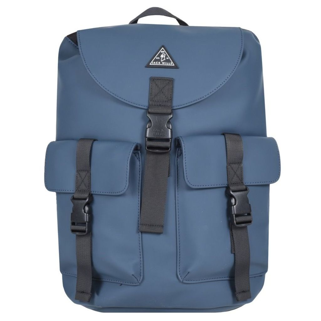 Jack Wills Bereford Cargo Backpack Navy