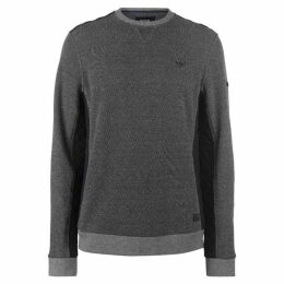 Firetrap Church Crew Sweater Mens
