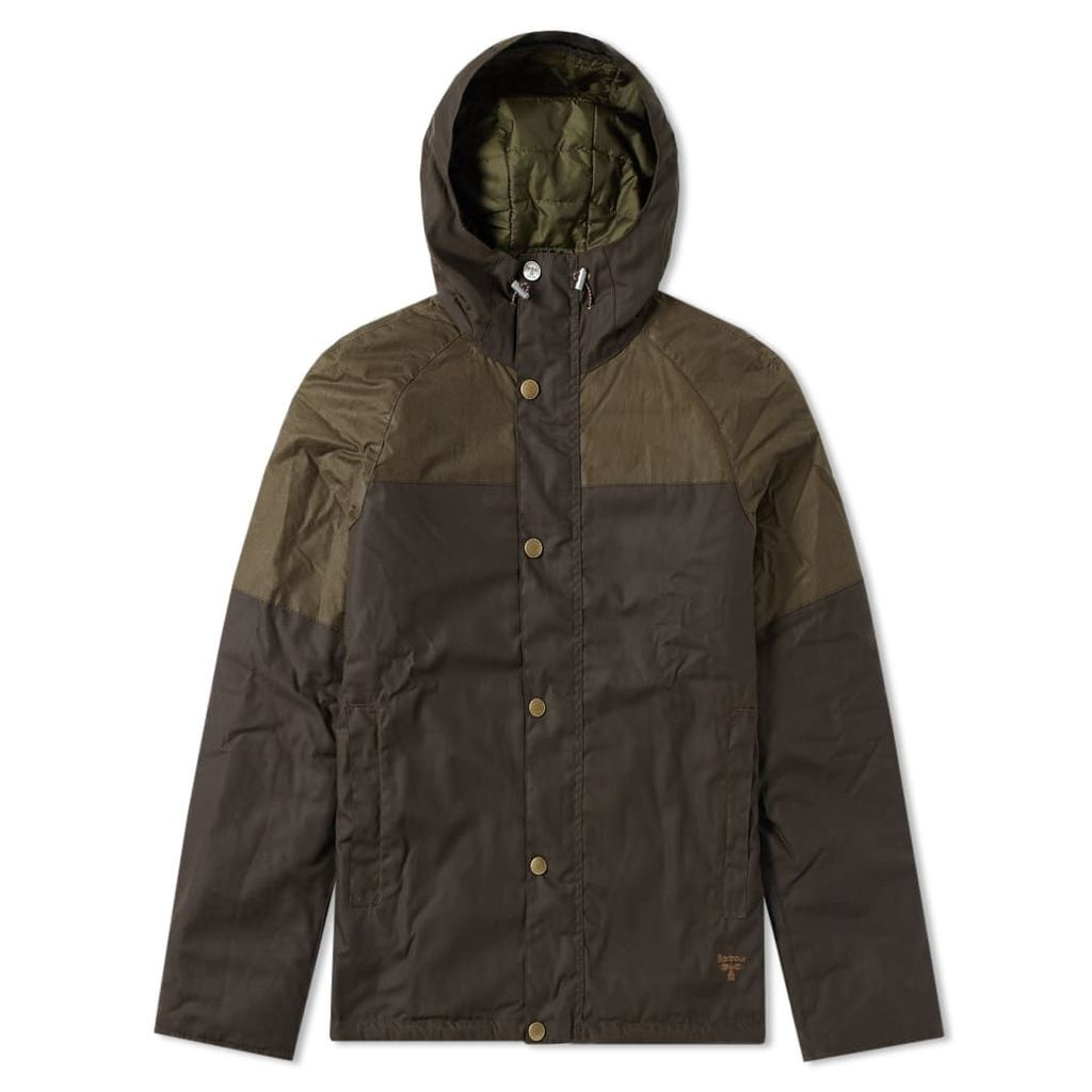 Barbour Aira Wax Jacket Peat