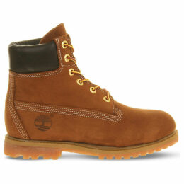 Timberland Premium 6-inch suede boots, Mens, Size: 7, Rust nubuck
