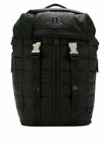 Moncler large quilted backpack - Black