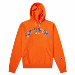 Champion x Beams Popover Hoody Orange
