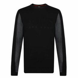 Boss Crew Logo Embossed Sweatshirt