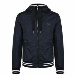 Dolce and Gabbana Nylon Hooded Jacket