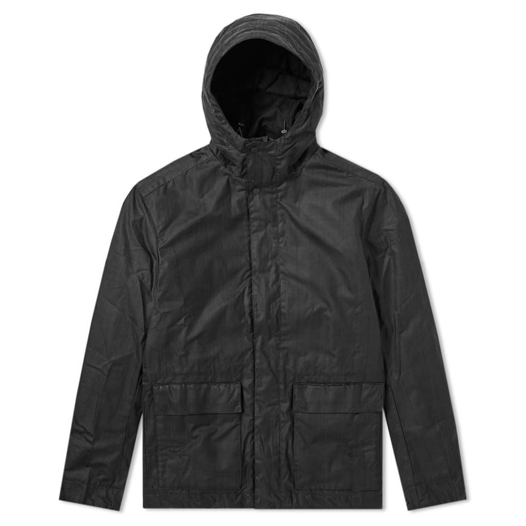 Norse Projects Nunk Waxed Cotton Jacket Black Watch Check