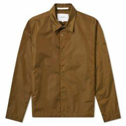Norse Projects Svend Nylon Oxford Jacket Sitka Green