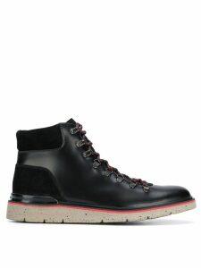 Hogan ankle lace-up boots - Black