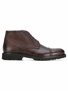Baldinini lace up brogue boots - Brown