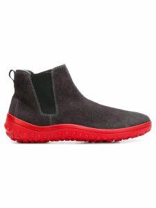 Car Shoe contrast sole boots - Grey