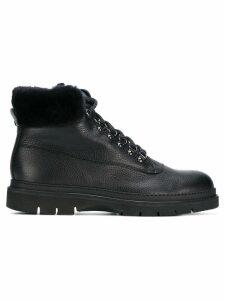 Baldinini lace up ankle boots - Black