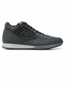 Hogan low top logo trainers - Black