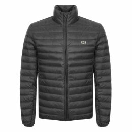 Lacoste Full Zip Padded Jacket Black