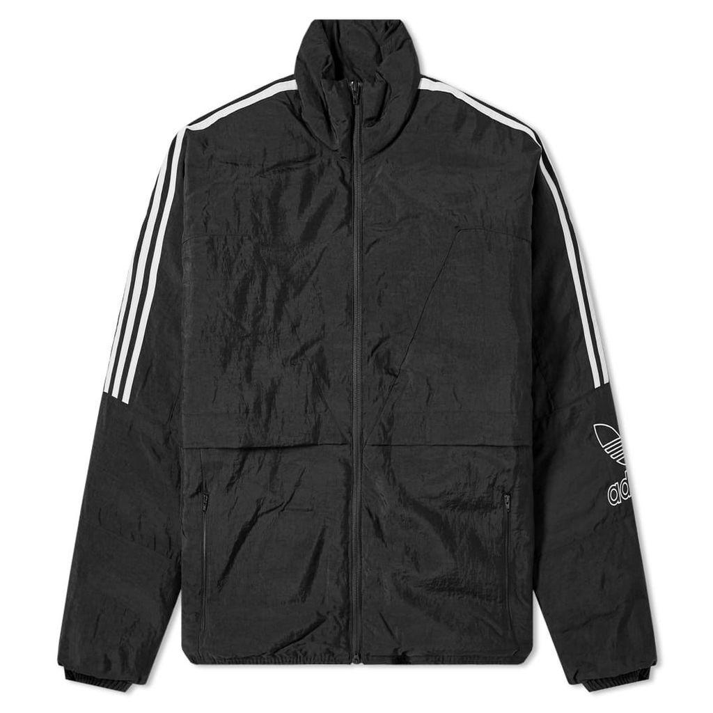 Adidas Outline Trefoil Jacket Black