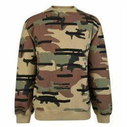 Maharishi Camouflage Sweatshirt