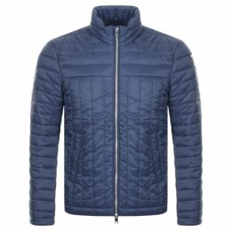 Replay Quilted Jacket Navy