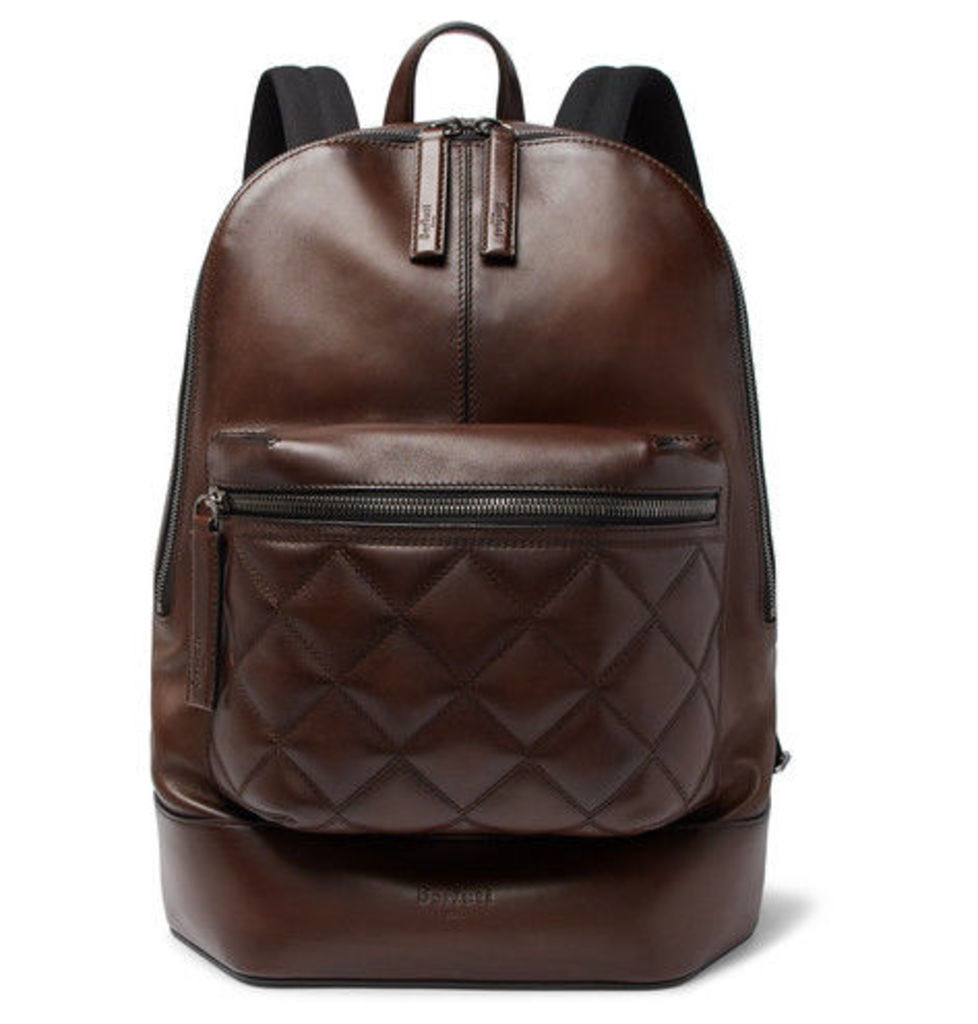 Berluti - Volume Mm Leather Backpack - Brown