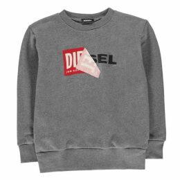 Diesel Peel Logo Sweatshirt