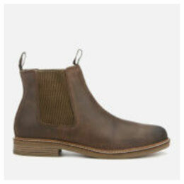 Barbour Men's Farsley Leather Chelsea Boots - Choco - UK 11