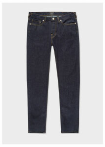 Men's Tapered-Fit 14oz 'Organic Pepper N Salt' Indigo Denim Jeans
