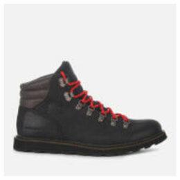 Sorel Men's Madson Waterproof Hiker Style Boots - Black - UK 8