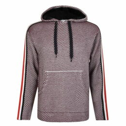 Tommy x Lewis Hamilton Striped Sleeve Hooded Sweatshirt