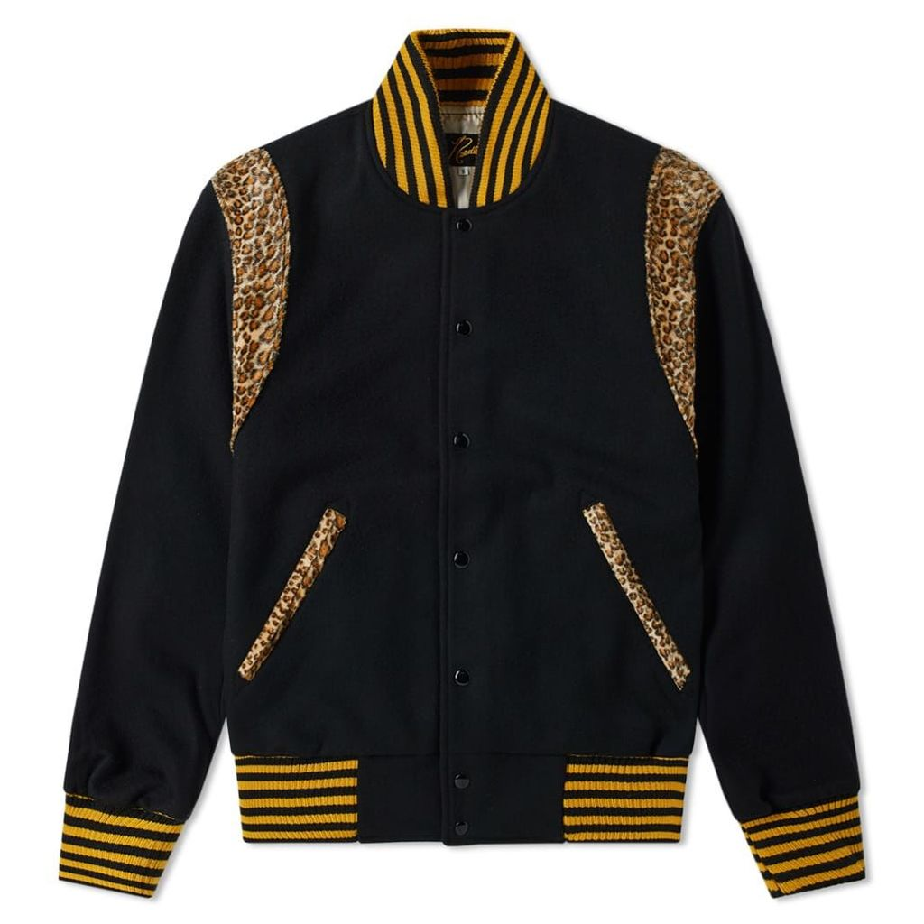 Needles Award Varsity Jacket Black