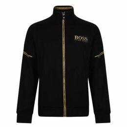 Boss Logo Zip Sweatshirt