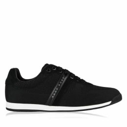 Boss Maze Low Top Knit Trainers