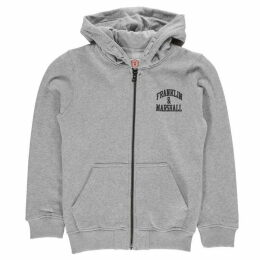 Franklin and Marshall Badge Zip Hoodie