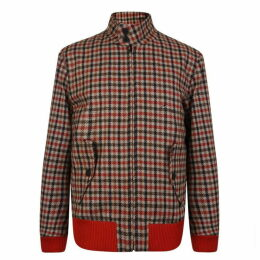 Hilfiger Collection Checked Cropped Jacket