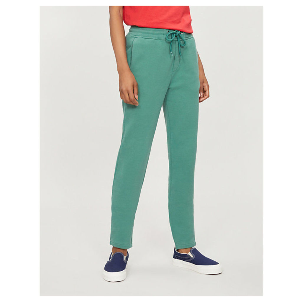 Unisex relaxed-fit cotton jogging bottoms