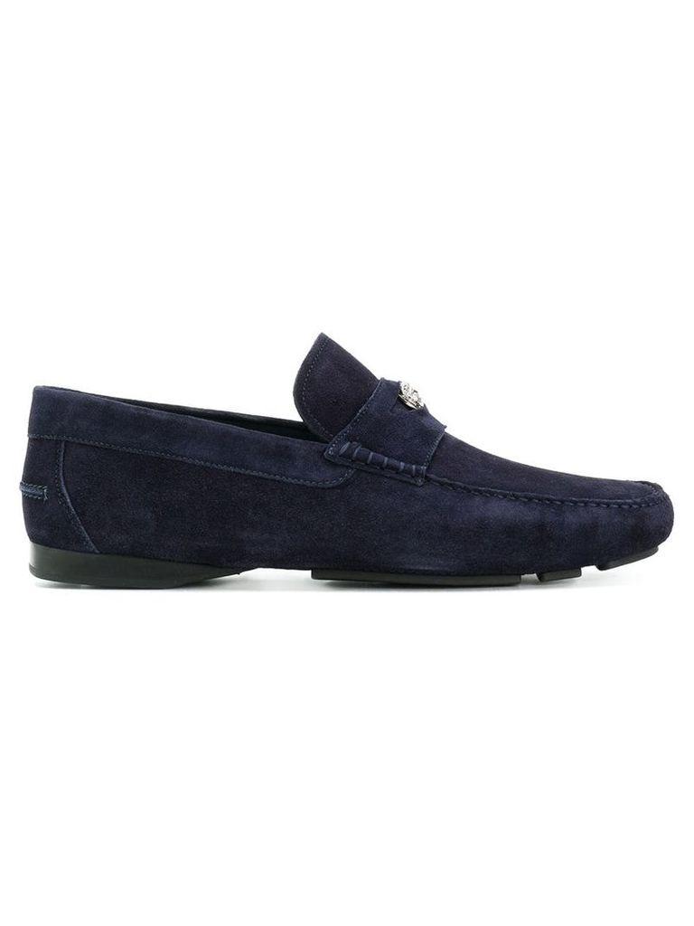 Versace Medusa loafers - Blue