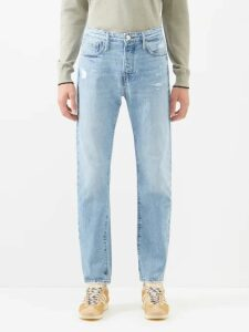 Moncler Gamme Bleu - Mylon Patch Pocket Quilted Down Jacket - Mens - Navy