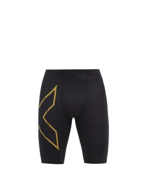 Incotex - Slim Fit Cotton Blend Corduroy Trousers - Mens - Navy