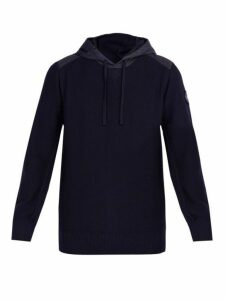 Canada Goose - Ashcroft Hooded Wool Sweater - Mens - Navy