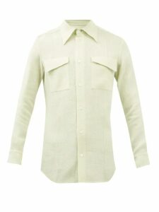 Éditions M.r - Francois Striped Linen Trousers - Mens - Beige Multi