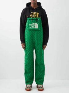 Balenciaga - Oversized Half Zip Fleece Sweatshirt - Mens - Blue