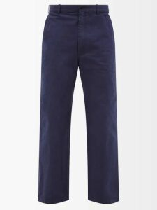 Eytys - Cypress Wool Blend Trousers - Mens - Navy