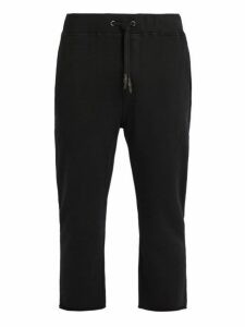 The Upside - Om Cropped Cotton Track Pants - Mens - Black