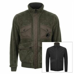 CP Company Reversible Soft Shell Jacket Green