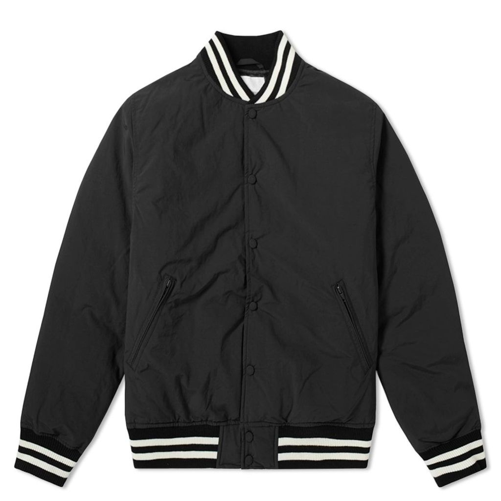 Nanamica Down Varsity Jacket Black