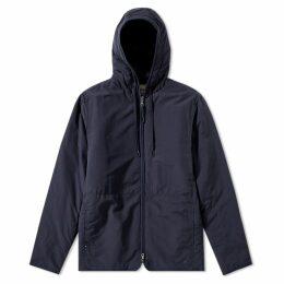 Folk Wadded Hooded Jacket Deep Navy
