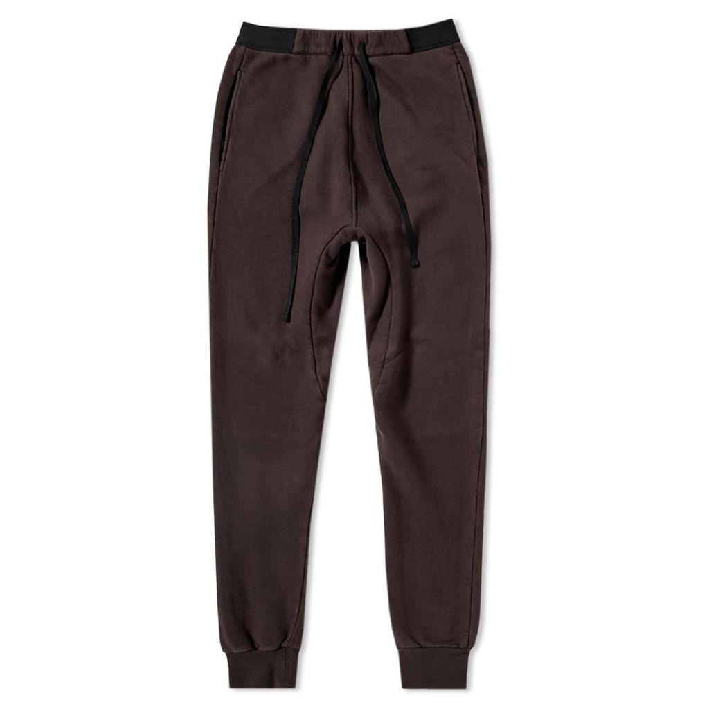 Unravel Project Low Rise Sweatpant Dark Brown