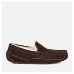 UGG Men's Ascot Suede Slippers - Espresso - UK 11