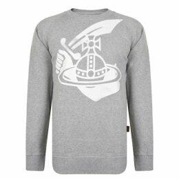 Vivienne Westwood Anglomania Orb Crest Sweatshirt