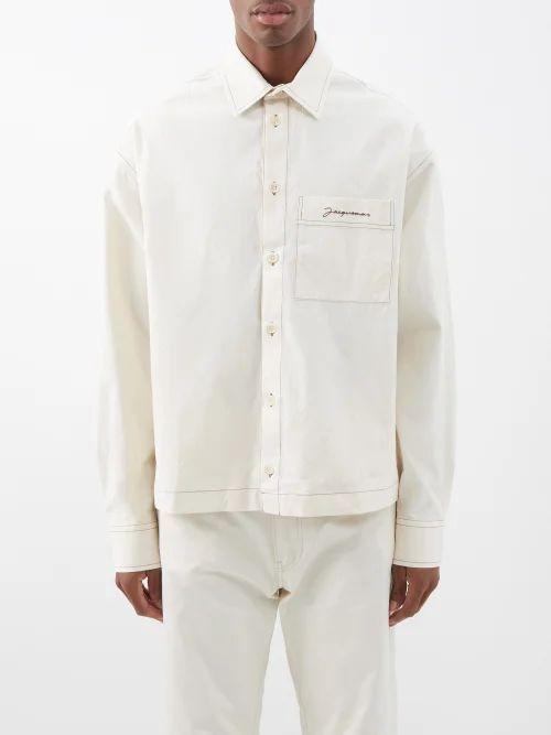 Iris Von Arnim - Magellan Waffle Knit Cashmere Sweater - Mens - Light Grey