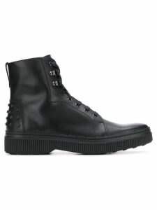 Tod's studded Gommino boots - Black